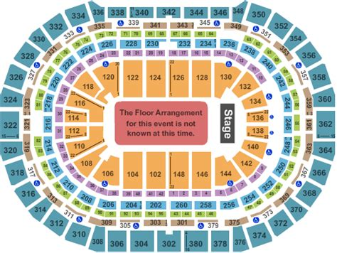 Pepsi Center Floor Plan | concert venues in denver co concertfix com