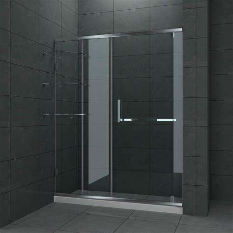 Shower Doors Bathroom Frameless Enclosures Bathroom Glass Sliding Shower Doors