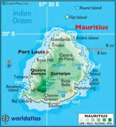 Mauritius On World Map by Where Is Mauritius On The World Map Submited Images