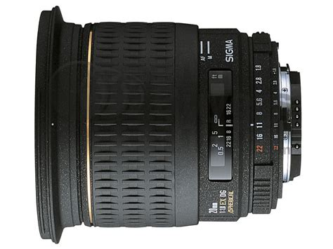 sigma 20mm f 18 sigma 20mm f 1 8 ex dg asp rf lens reviews specification