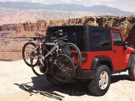 jeep wrangler mountain bike jeep parts bike rack by just jeeps blog