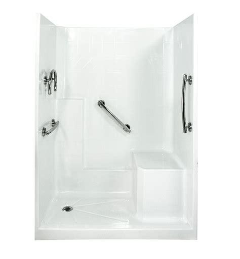 Freedom Showers by Ella 6032shis3p Frdm Freedom Low Threshold Shower Kit 60