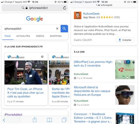 designing news changing the 389955468x google change le design de ses recherches sur mobile kulturegeek