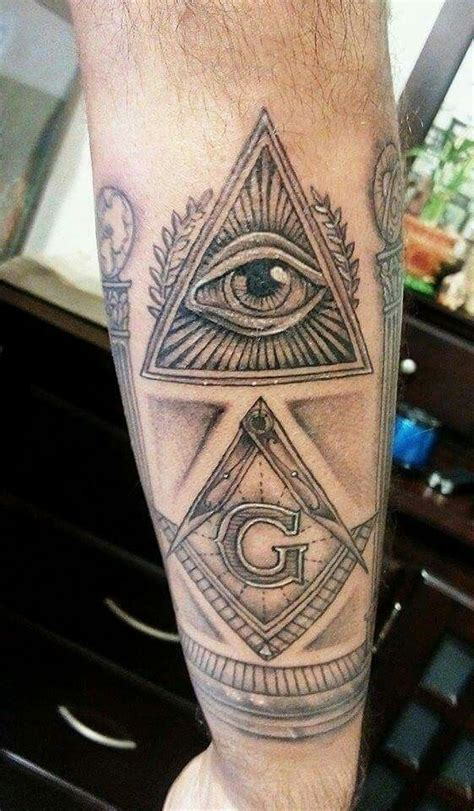 masonic tattoo designs best 25 masonic tattoos ideas on freemason