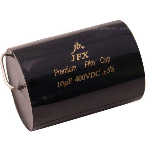 jb jfx capacitor jb axial capacitors jfx premium met polypropylene 400v 8 2μf audiophonics