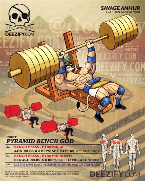 flat barbell pyramid bench 91 best wod train deezify com savage lifestyle images on