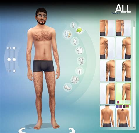 my sims 4 blog labels my sims 4 blog body hair by lumialover8