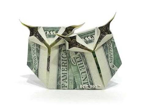 Dollar Owl Origami - bff owls money origami bird animal dollar bill