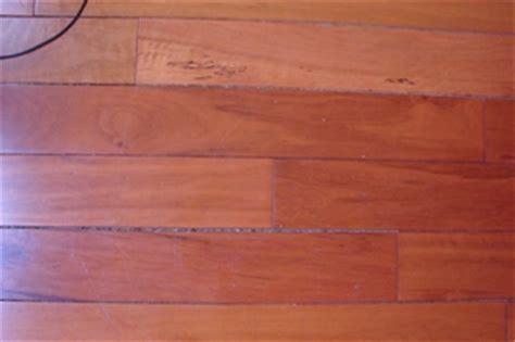 Gaps between planks on already installed floor
