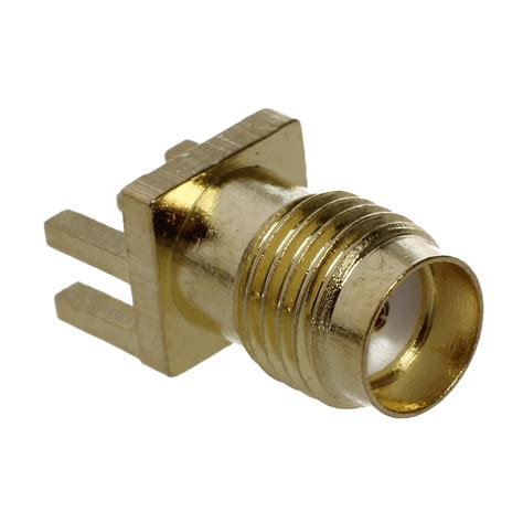 Launch Pcb Mount Sma Rf Connector End Launch Pcb Mount Sma Rf Connector