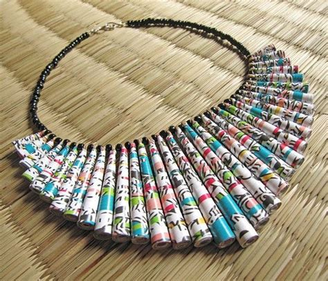 Paper Jewellery Materials - 19 best images about paper jewelry on chunky