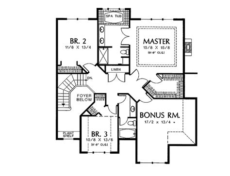 eplans colonial house plan two story great room 2256 10 surprisingly two story square house plans home plans