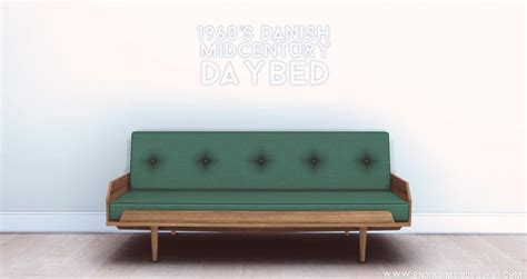 1960 s danish mid century daybed by onyx teh sims