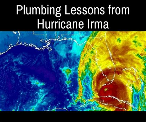 Adam And Sons Plumbing by Plumbing Lessons From Hurricane Irma And