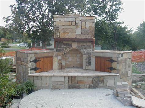 backyard stone fireplace river stone fireplace surround ideas designs sweet stacked