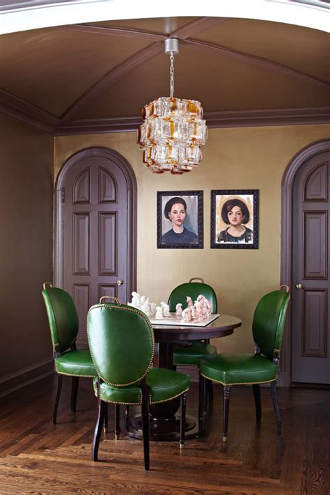 Emerald Green Dining Room Experts Tips Decorating With Emerald Traditional Home