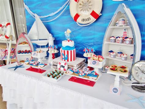 Nautical Theme Baby Shower Decorations by It S A Boy Nautical Baby Shower Baby Shower Ideas