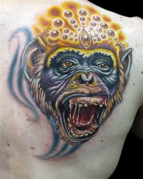 ape tattoo 45 monkey shoulder tattoos design