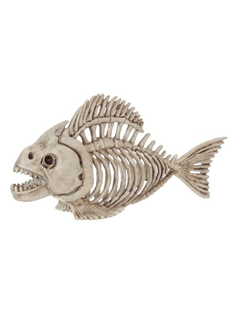 Halloween Decorations To Make At Home by Skeleton Fish