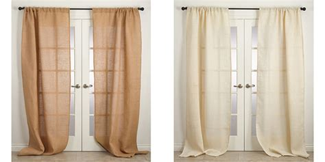 where to buy burlap curtains buy burlap curtains rustic style curtain panels