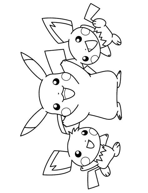 20 dessins de coloriage Pokemon Noir Et Blanc à imprimer