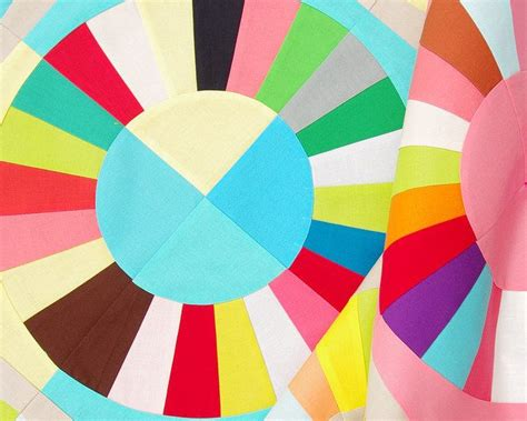 color wheel block pattern and tutorial pepper