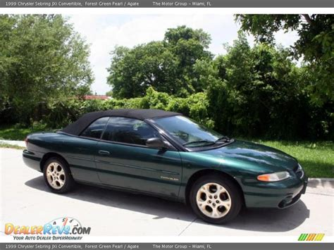 1999 Chrysler Sebring Jxi Convertible by 1999 Chrysler Sebring Jxi Convertible Forest Green Pearl