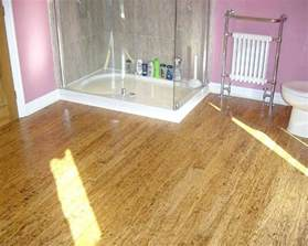 ideas for bathroom floors bathroom floor ideas bamboo home interiors