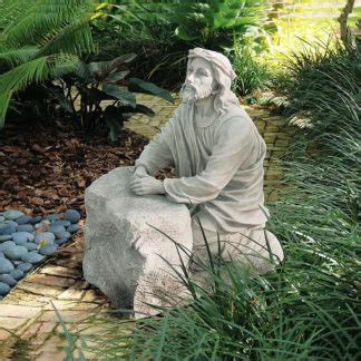 st francis  assisi garden statue life giving waters