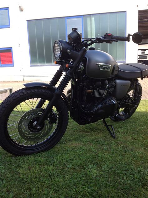 Motorrad Umbau D Sseldorf by Details Zum Custom Bike Triumph Scrambler Des H 228 Ndlers