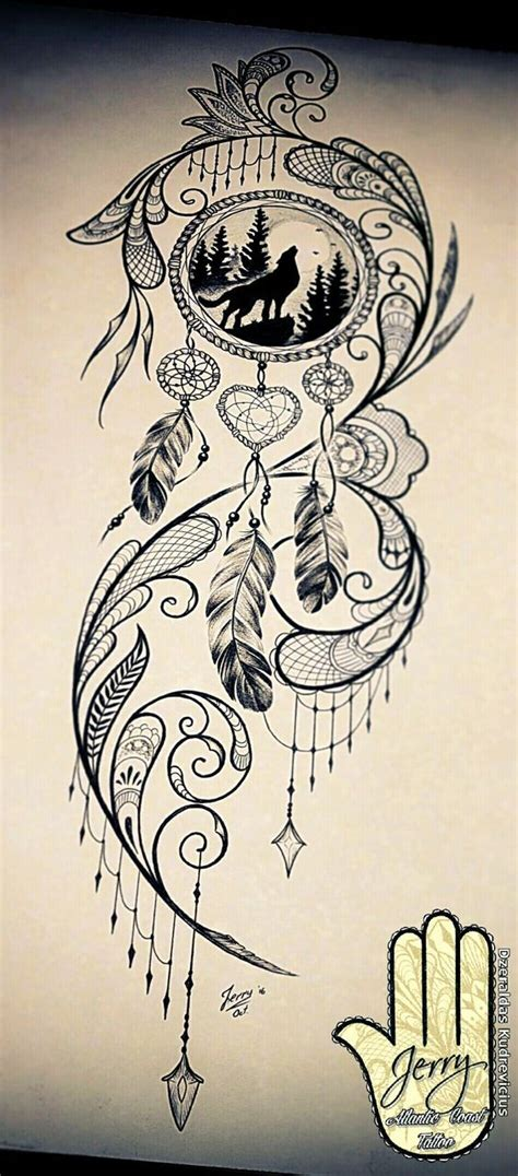 unique dreamcatcher tattoos best 25 dreamcatcher tattoos ideas on