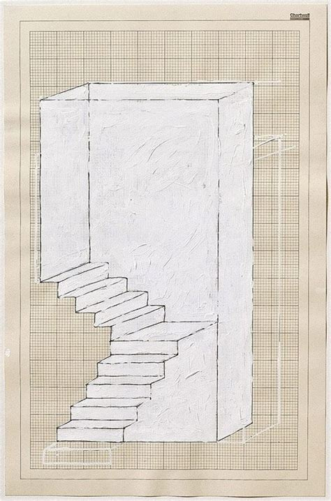libro rachel whiteread rachel whiteread dog leg stair 1995 correction fluid and ink on graph paper 45 5 x 30 cm