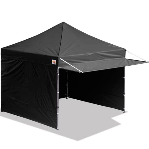 canopy tent with awning 10x10 abccanopy easy pop up canopy tent instant shelter