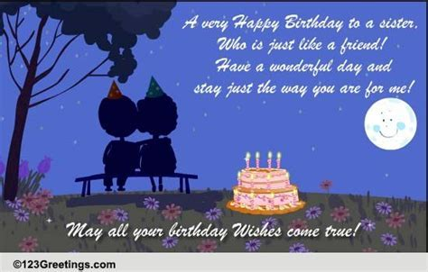 B'day Wishes For A Sister! Free For Brother & Sister