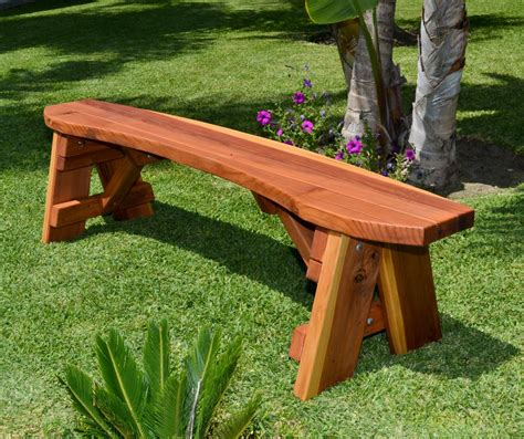 circular picnic benches round picnic benches built to last decades forever redwood
