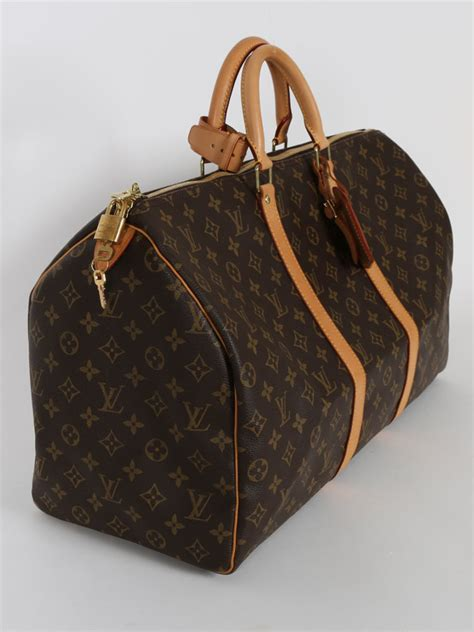 louis vuitton keepall  monogram canvas luxury bags