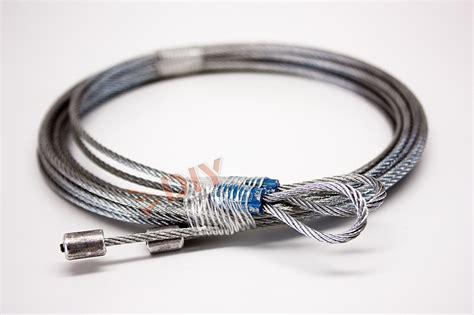 Diy Garage Door Parts 8ft Torsion Cables 3 32 Quot Quieter Garage Door Cable