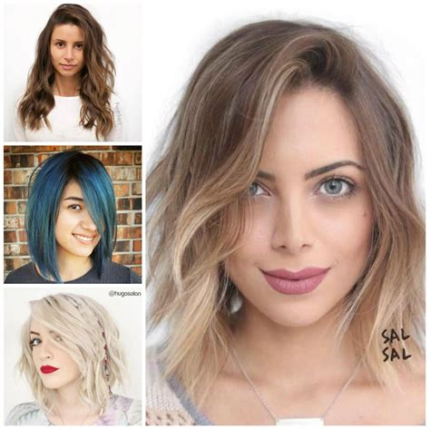 Medium Length Hairstyles 2017 For Faces by Hairstyles Hairstyles 2018 New Haircuts And Hair