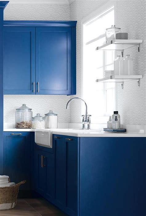 blue laundry blue laundry room with ikea wall shelves contemporary