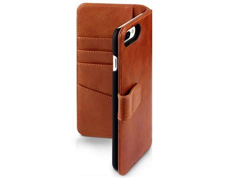 caseboutique leather bookcase leren iphone  hoes