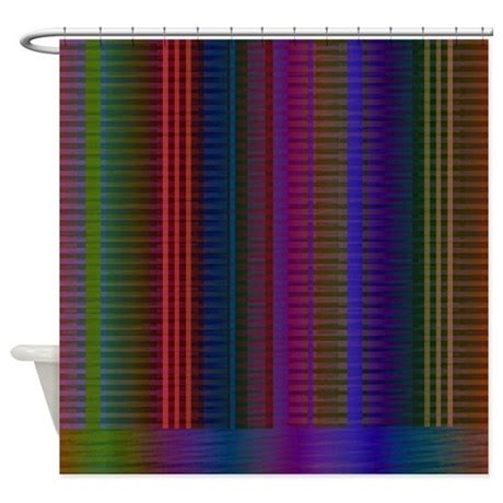bright color shower curtain by theshowercurtaincenter