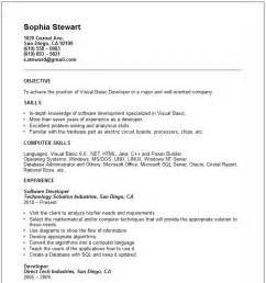 Basic Resume Exles For by Basic Resume Examples Cv