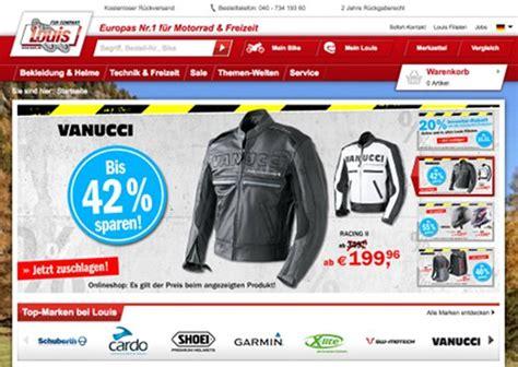 Louis Motorrad Online Shop De by Louis Mit Filialgesch 228 Ft Zufriedener Als Mit Versandhandel