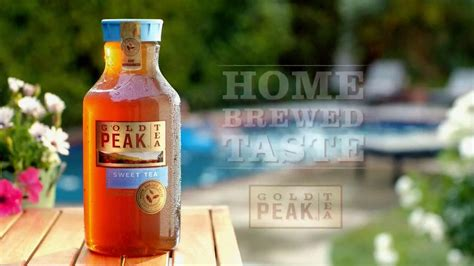 gold peak iced tea tv commercial home brewed ispot tv