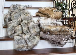 Bachelor Bathroom Fox Faux Fur Throw Blanket Bachelor On A Budget