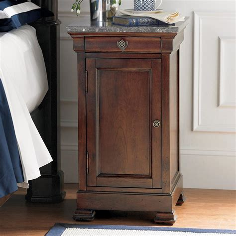 how tall should a nightstand be tall marble top bedside table and nightstand