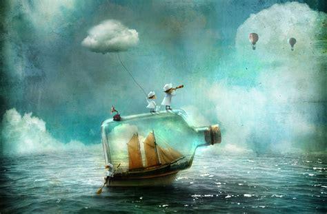 imagenes surrealistas de rock hermosas ilustraciones surrealistas de cuentos de hadas