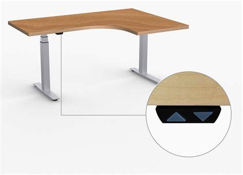 adjustable height l shaped desk l shaped height adjustable adjustable height desks