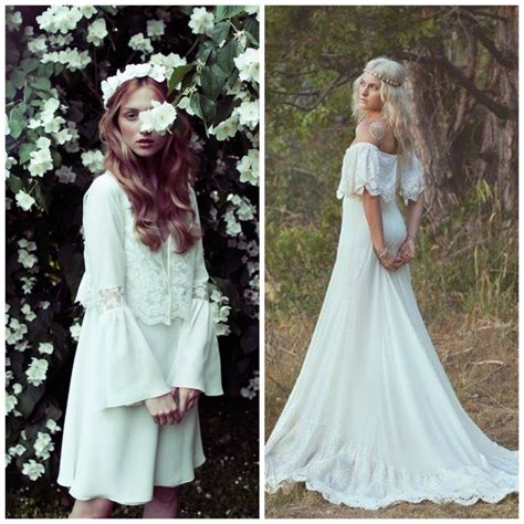 Brautkleider 70er Stil by Bohemian 70s Style Wedding Inspiration Weddingdates