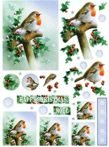 Free 3d Decoupage Sheets - dcd560 robin on spade die cut 3d decoupage sheets